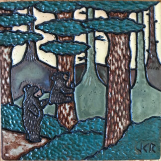 Bears in the Woods Tile