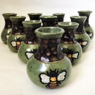 Bee Bud Vases