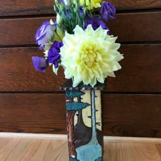 Blue Ridge Tall Slab Vase