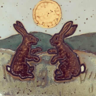 Boxing Bunnies Tile