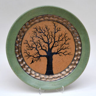 Green Tree Plate
