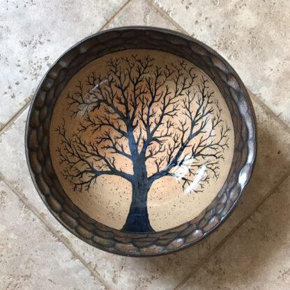 Hanging Tree Bowl stoneware