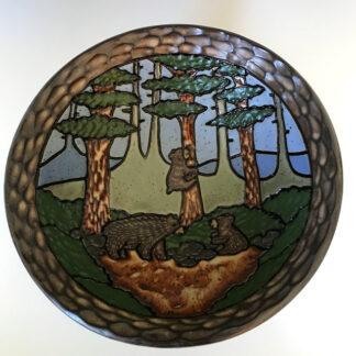 Medium bear bowl JCR Designs