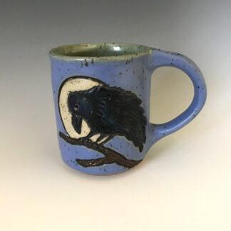 Small Raven Mug