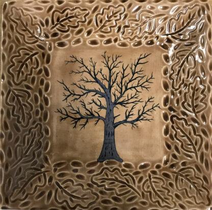 Square Tree Plate