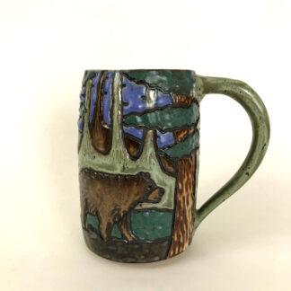 Walking Bear Mug
