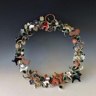 Mixed-Breed Dog Wreath