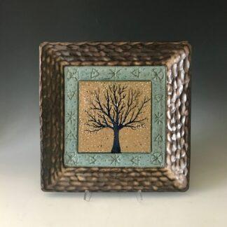 Winter Tree Platter